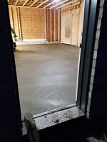 Get your inside concrete done today