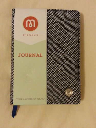 "M by Staples Journal, 240 Ruled Pages, 4.5"" x 6"""