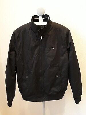 Mens J Lindeberg JL black bomber style jacket size xl fits smaller M or Large for sale  Shipping to Ireland