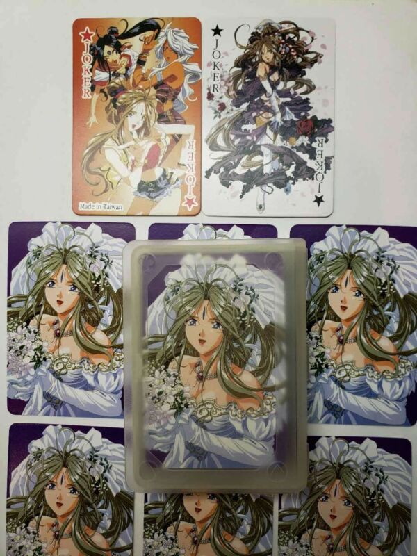 Ah! My Goddess Playing CardsJapanese Anime Manga Complete Card Deck