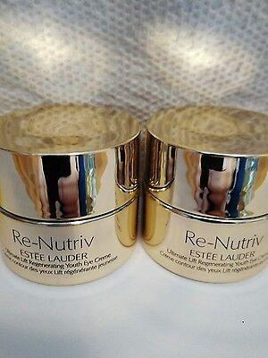 2* Estee Lauder Re-Nutriv Ultimate Lift Regenerating Youth Eye Creme total=2x7ml