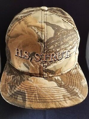 9de0c4ec1a4ac Hunter Specialties NEW H.S. Strut Snap Back Camouflage Hat Camo Baseball  Cap Hat