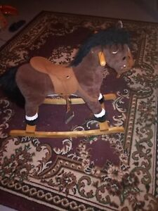 Toys pony and chalk board