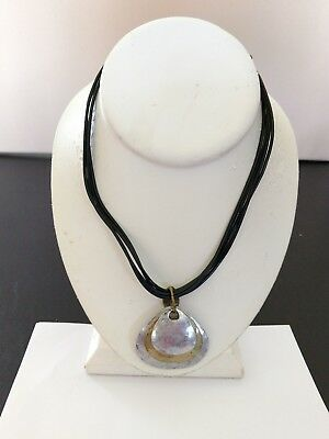 Premier Designs Jewelry Summer Breeze 17  20  Antiqued Gold Silver Necklace Nwot