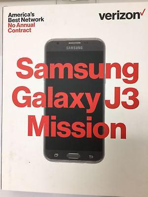 Verizon Prepaid - Samsung Galaxy J3 Mission 4G with 16GB Memory Prepaid Cell ...