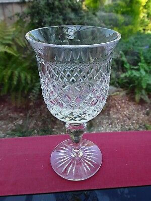 SUBSTANTIAL VINTAGE LEAD CRYSTAL GLASS WINE GIN WATER COCKTAIL PROSECCO....ENJOY