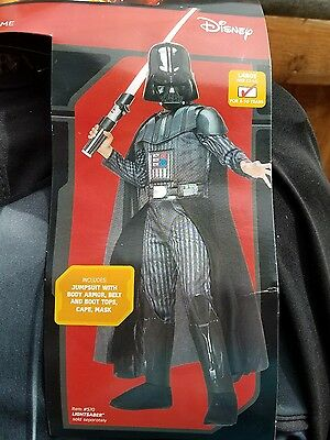 14 Year Old Halloween Costumes (Starwars Darth Vader child costume size large 12-14. Fit 8-10year)