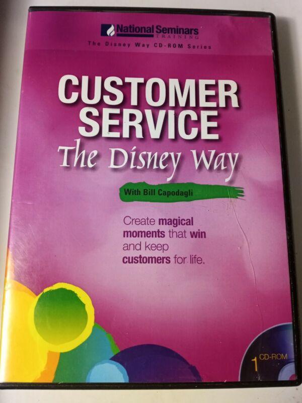 National Seminars Training The Disney Way CUSTOMER SERVICE BILL CAPODAGLI CdRom