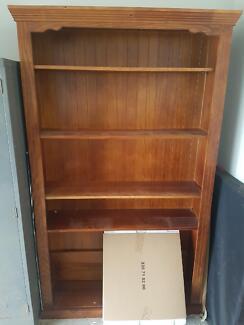 Large Wooden book case / shelf