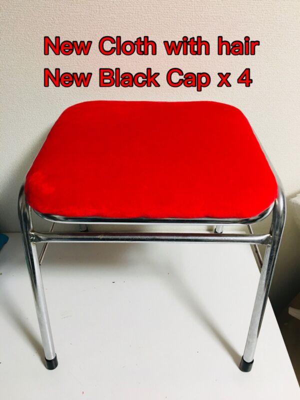 Arcade Stool Red Height 43cm Astrocity Blast City  Game Center chair SEGA
