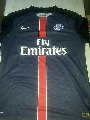 8c680e49cc4ef7 Nike Paris Saint-Germain 15 16 Home Match Jersey 658904-411 Men s Size XL   150