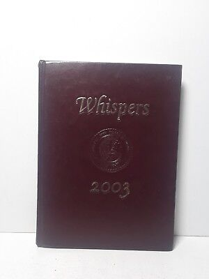 2003 The Episcopal High School Whispers Yearbook