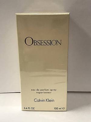 Obsession by Calvin Klein 3.4 oz EDP Perfume for Women *New In Box*