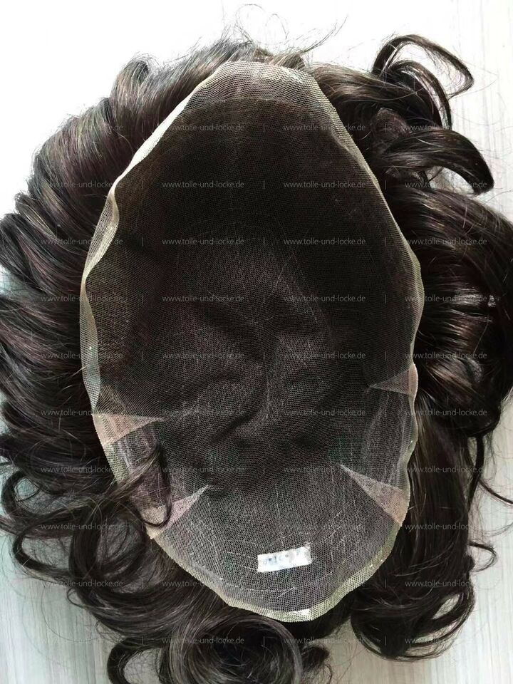 Haarsystem / Toupet, French / Swiss Lace - Emergency Ware in Hannover