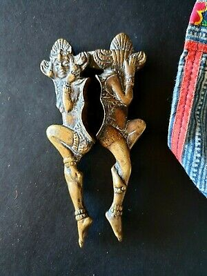 Old Asian Bronze / Brass Nut Crackers …beautiful collection piece