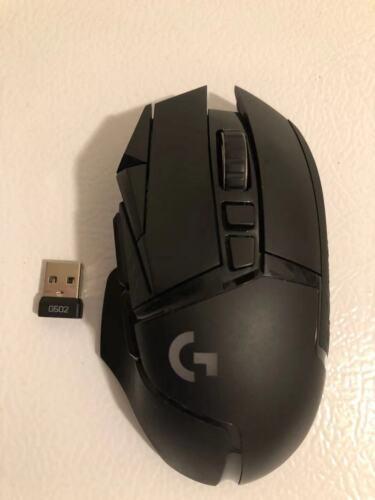 Logitech G502 Lightspeed Wireless Optical Gaming Mouse Black Read #1