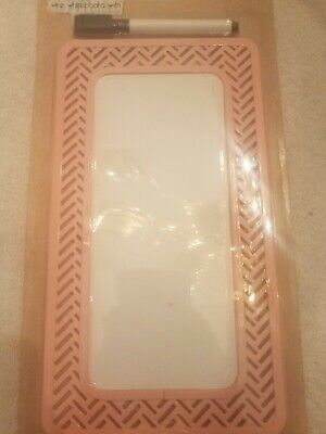 Pink Magnetic Wire Whiteboard With Marker Upc 708820240698