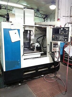 Hurco Bmc 2416 Vertical Machining Center W 4th Axis 30x16 Mill Smw Indexer 24