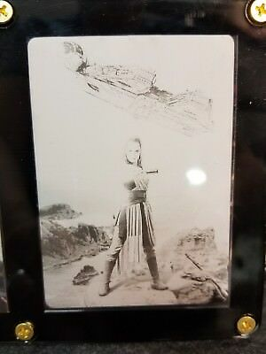 Star Wars Printing Plate Rey Continuity Card 5 Daisy Ridley 1 1