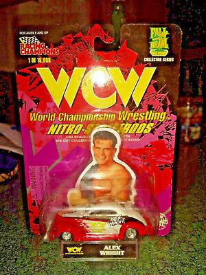 WCW Nitro-Streetrods Alex Wright Racing Champions 1:64 Fall Brawl War Games car