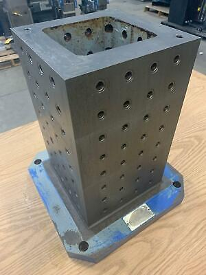 Amf Precision Cnc Horizontal Tombstone 400mm 10 X 10 X 16-12 Clamping Column