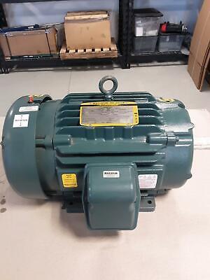 New Baldor 15 H.p. Electric Motor 575 Volt Super-e Severe Duty 1765 Rpm