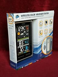 LA CROSSE Wireless Color Weather Station S88907 with TX141TH-BV2