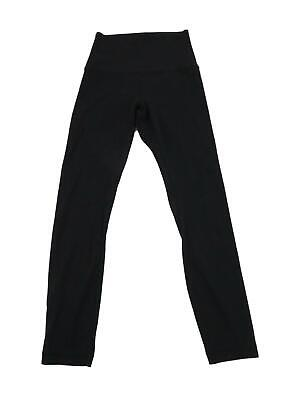 "Lululemon Align II Hi Rise Tight Pants 6 Black Nulu Yoga Running (25"")"