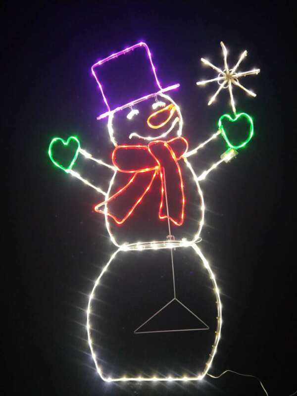 Santas Christmas Magic 172 LT 2D TWINKLE SNOWMAN