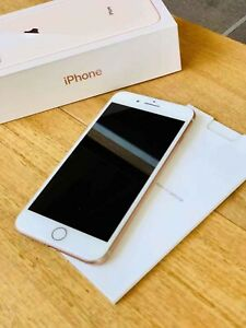 IPHONE 8 PLUS Gold 256gb with Box Excellent Condition