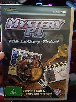 Mystery P I    The Lottery Ticket    Pc Game   Free Post