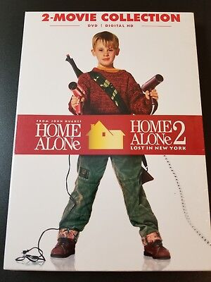 Home Alone 2-Movie Collection (DVD) **LIKE NEW CONDITION**