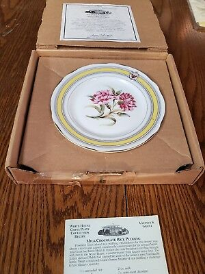 Woodmere White House China Collector Plate  Ulysses S Grant