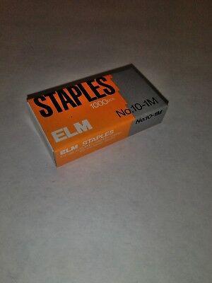 Staples 10-1m 5mm Elm Mini 1000 Staples Fast Shipping Usa Seller New