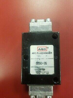 Aro Fluid Power Manual Air Control Valve 5030-35 3way K9129