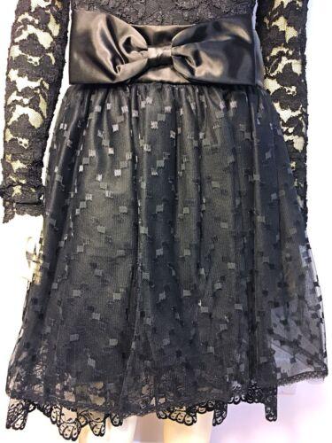 c265042822b ... Bow Vtg Size 9 10 NWT Vintage 80 s Jessica McClintock Gunne Sax Black  Lace Dress Bow Vtg Size 9 10 NWT Vintage 80 s Jessica McClintock Gunne Sax  Black ...