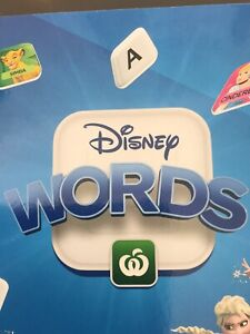 Disney Words Tiles