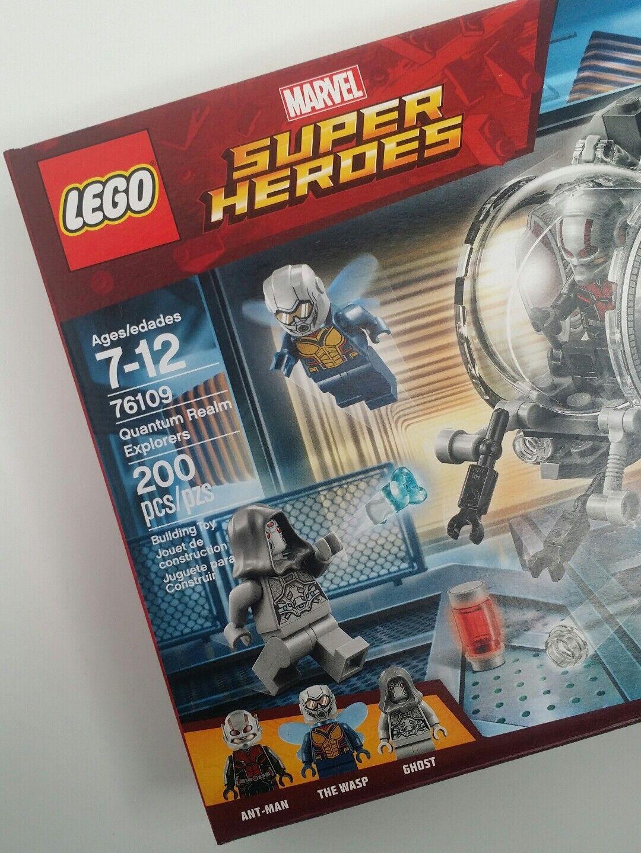 Lego Ant Super Wasp New Heroes Quantum Marvel 76109 Realm Explorers Man 3Ac5Rj4LqS