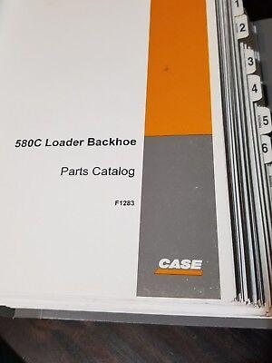 Case 580c Loader Backhoe Parts Catalog And Service Manual