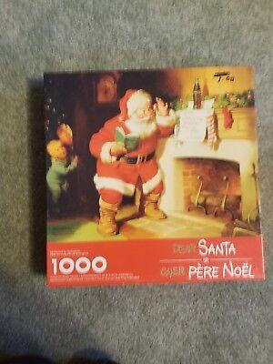 Coca Cola Santa Puzzle