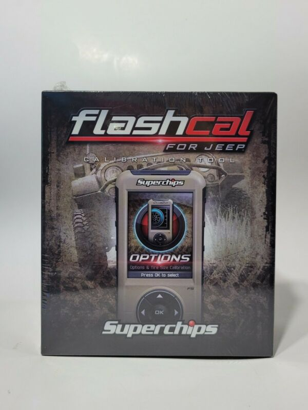 New Superchips Flashcal F5 Calibration Tool for Jeep JK 2007-2018 - #3571