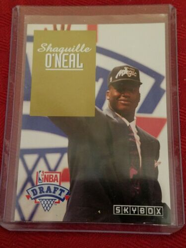 SHAQUILLE O'NEAL~RARE 1992 SKYBOX NBA DRAFT PICK ROOKIE RC C