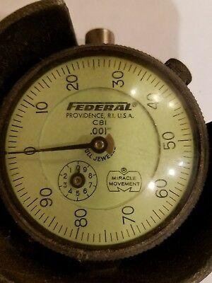 Federal Dial Gauge .001 Miracle-movement