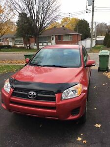 2011 RAV4 with new tire and 8 wheels!