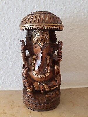 Holzfigur Gottheit Elephant