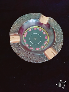 Vintage / retro style 1970's party ashtray with roulette. St Albans Brimbank Area Preview