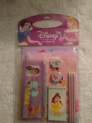 Disney Fairies Stationery Set 11-Piece Folders,pencils,notebook,memo pad