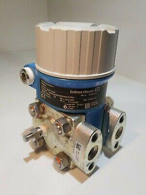 Differential Pressure Transmitter Endress Hauser Deltabar M Pmd55-17ql50
