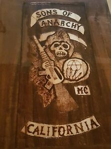 Sons of Anarchy coffee table