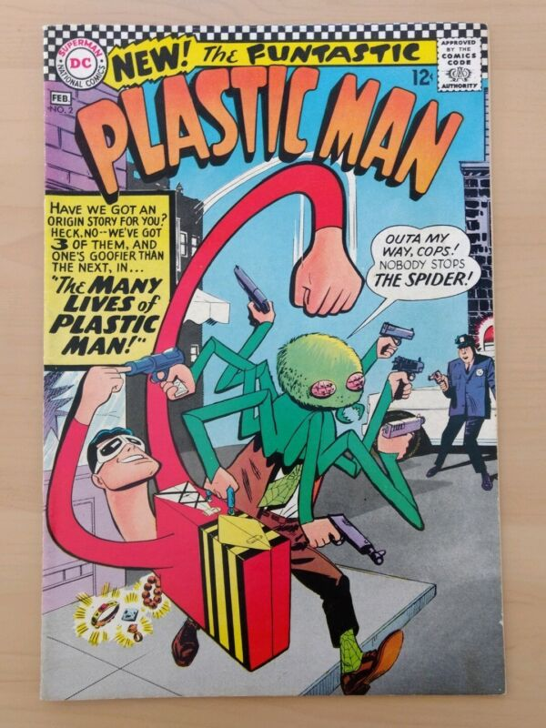 Plastic Man #2. DC Comics 1966. VF-